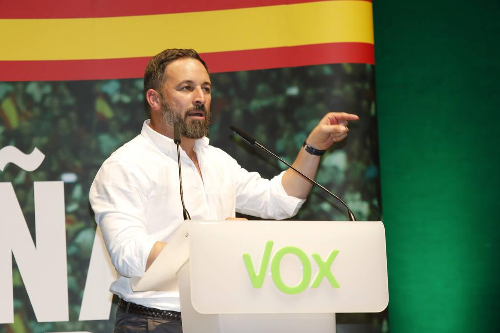 Abascal critica que el TS permita la exhumación de Franco, una escenografía de la propaganda electoral de Sánchez