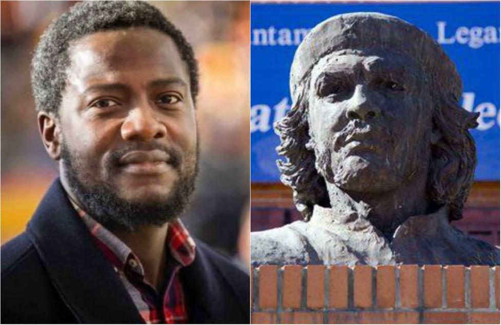 La explosiva denuncia del negro de Vox contra una estatua del Che Guevara en pleno Leganés