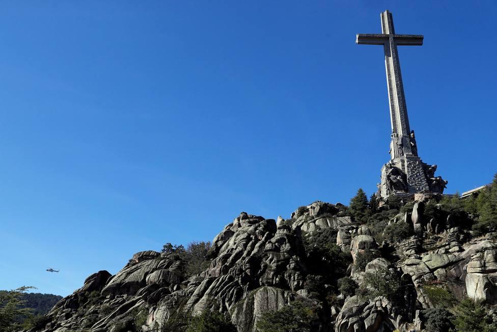 Las visitas al Valle de los Caídos caen más de la mitad en noviembre después de la exhumación de Franco