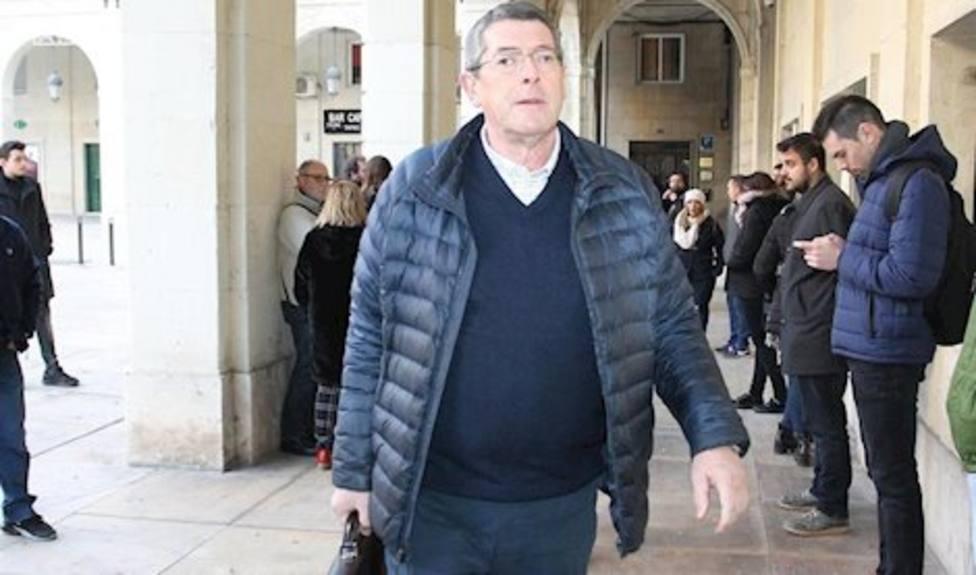 Juan Cano, acusado del asesinato del alcalde de Polop