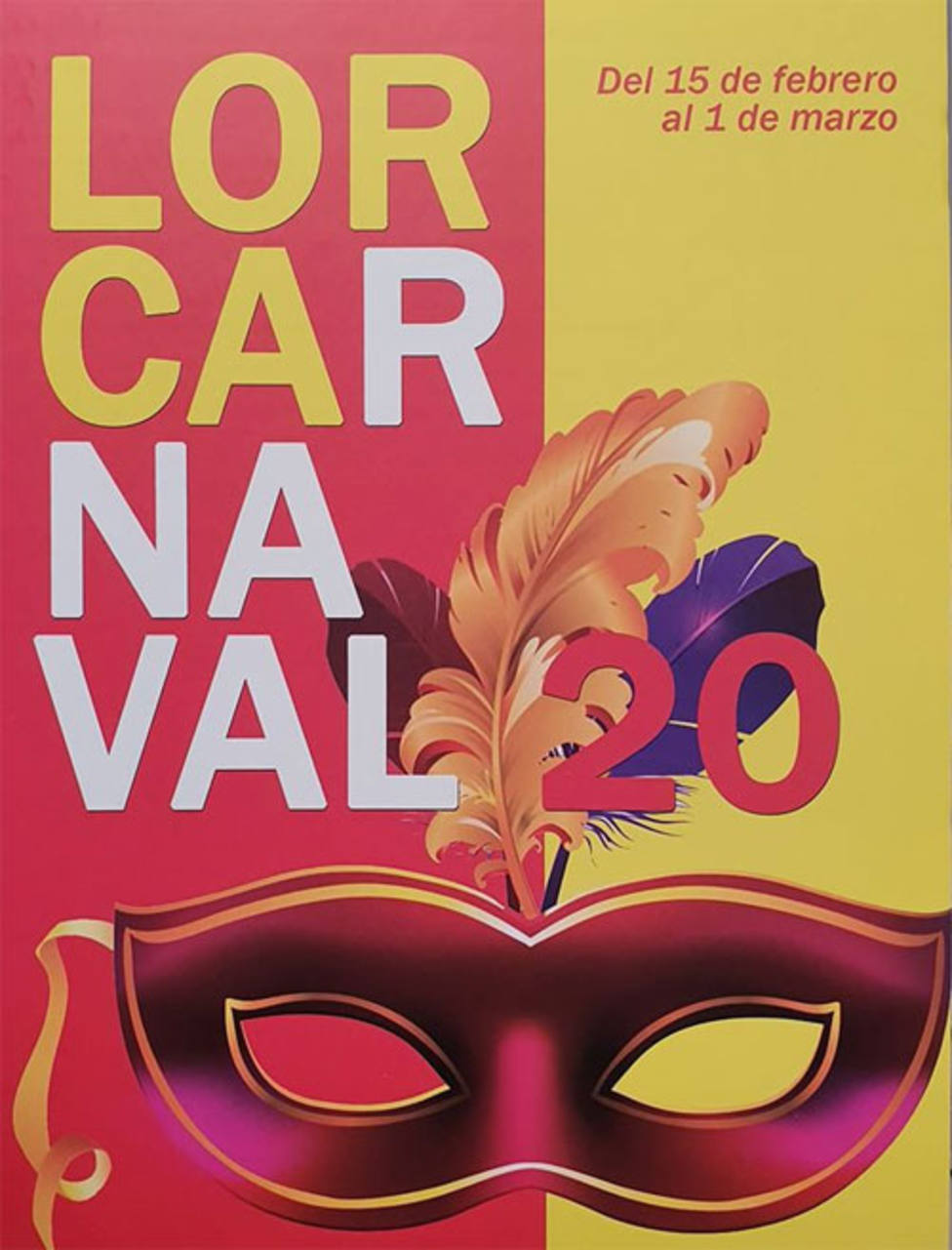 Unas 1.500 personas de 20 comparsas participan este sábado en el carnaval de Lorca