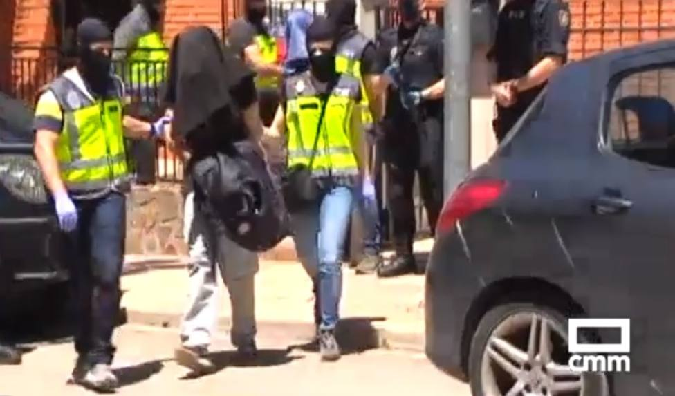 Detención presuntos yihadistas en Bolaños