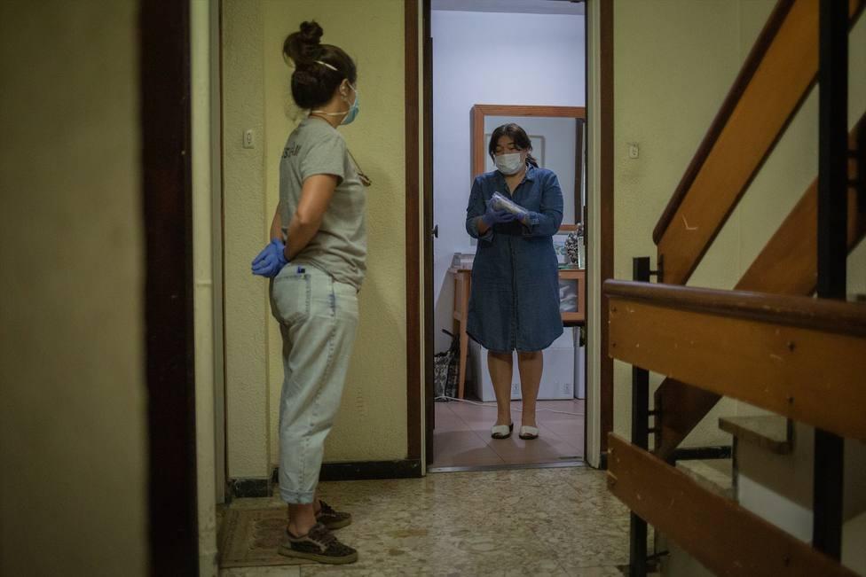 Los servicios sociales de Barcelona atienden a más de 34.000 personas en dos meses