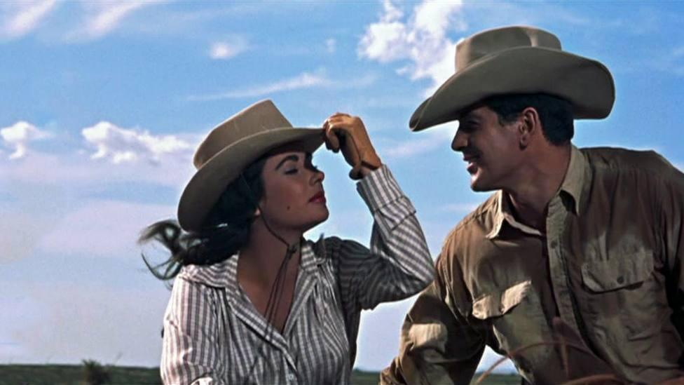 """Hoy en TRECE, no te pierdas a Elisabeth Taylor y Rock Hudson en """"Gigante"""""""