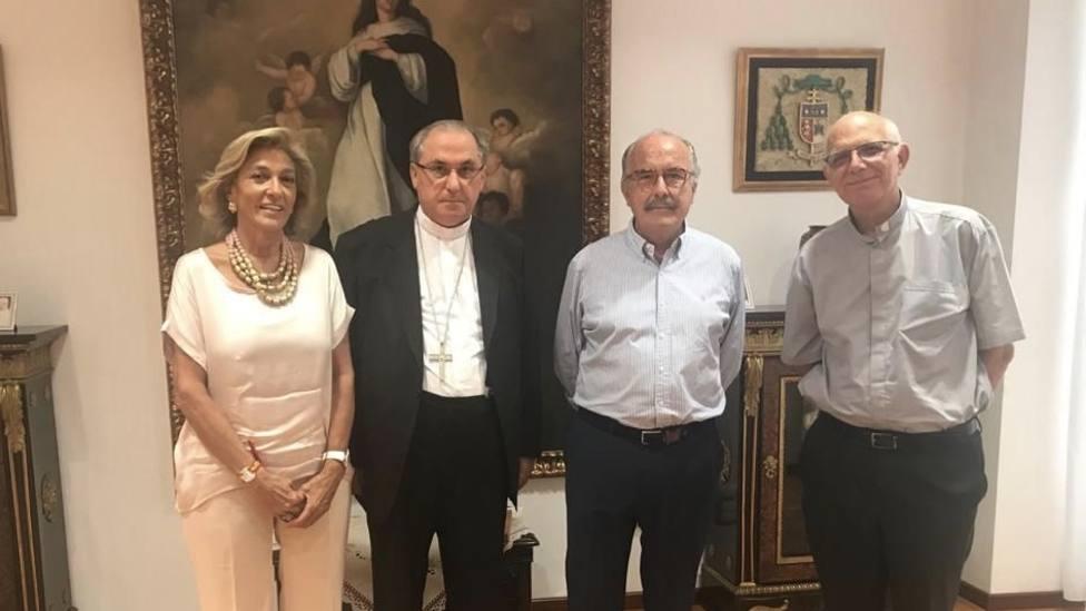 El Arzobispo recibe a la Fundación Banco de Alimentos