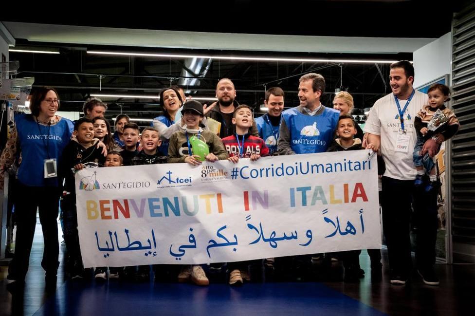 Italia acogerá a 300 migrantes desde Lesbos gracias al acuerdo con la Comunidad de Sant'Egidio