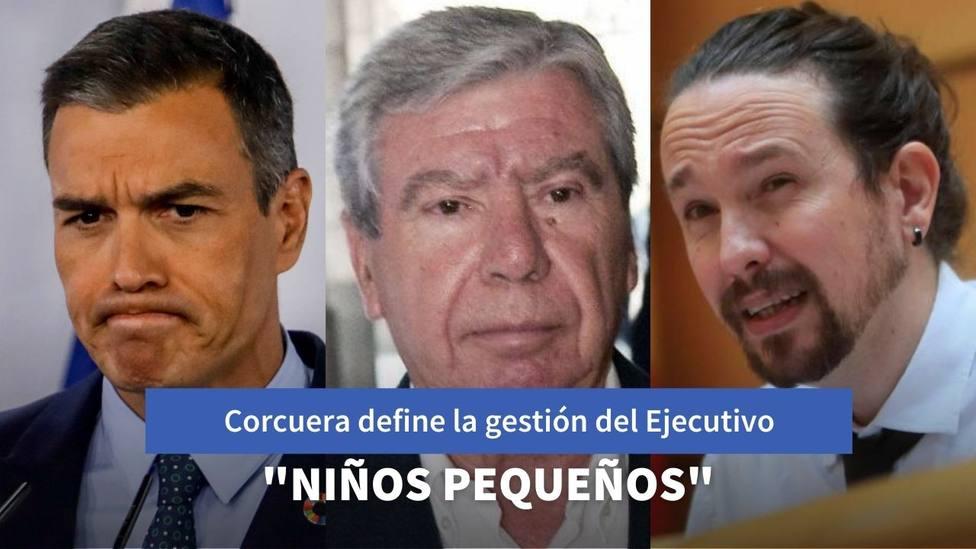 José Luis Corcuera define en pocas palabras la pésima gestión de Sánchez e Iglesias