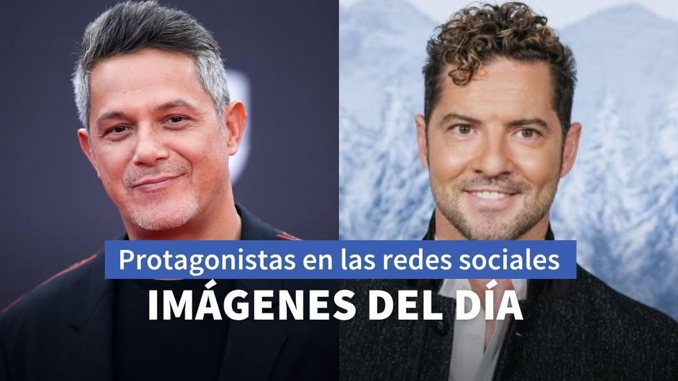 Imágenes del día: el guiño de Bisbal a Operación Triunfo y el recuerdo de Alejandro Sanz con Almodóvar
