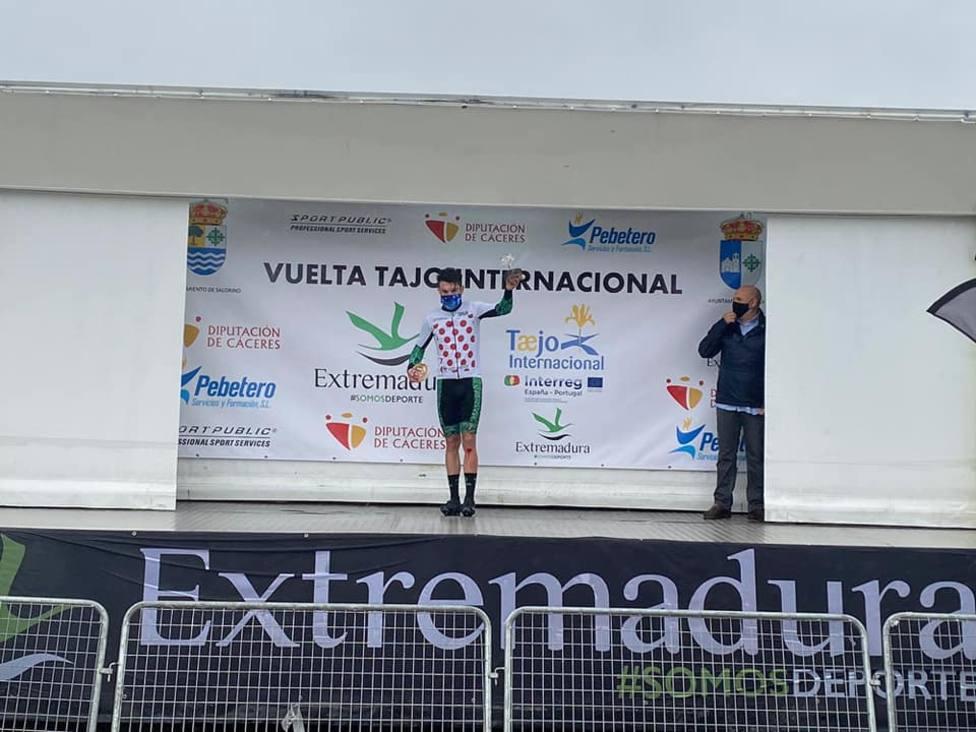 David Zafra del Brócoli Ciclista, campeón de la Montaña en el Tajo