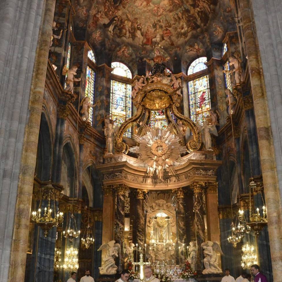 Celebración en Lugo por la renovación del privilegio papal de la Indulgencia Plenaria Cotidiana y Perpetua