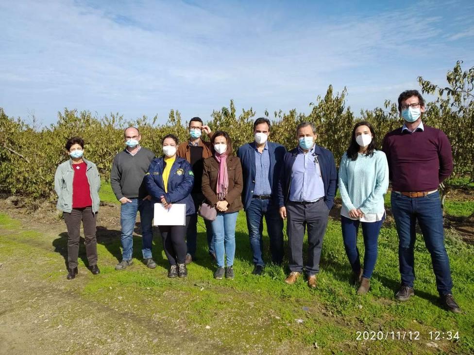 Delegación brasileña en Extremadura. Fuente: Juntaex