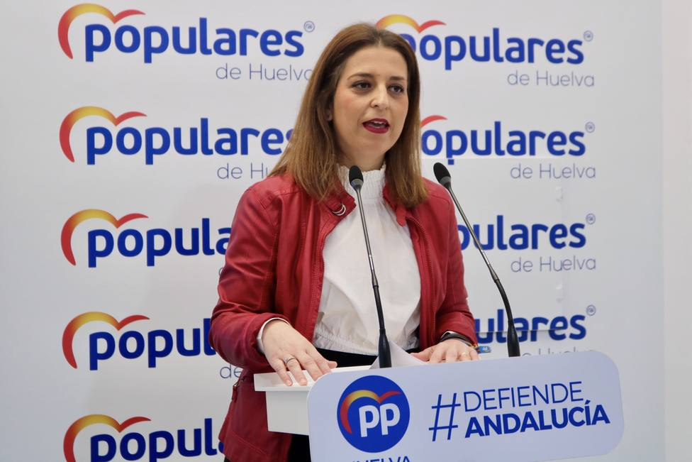 Paqui Rosa, portavoz provincial del PP Huelva