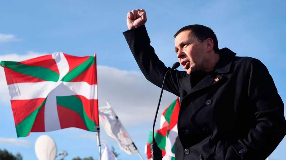 Otegi cinco años después de salir de la cárcel: Salimos aún más independentistas