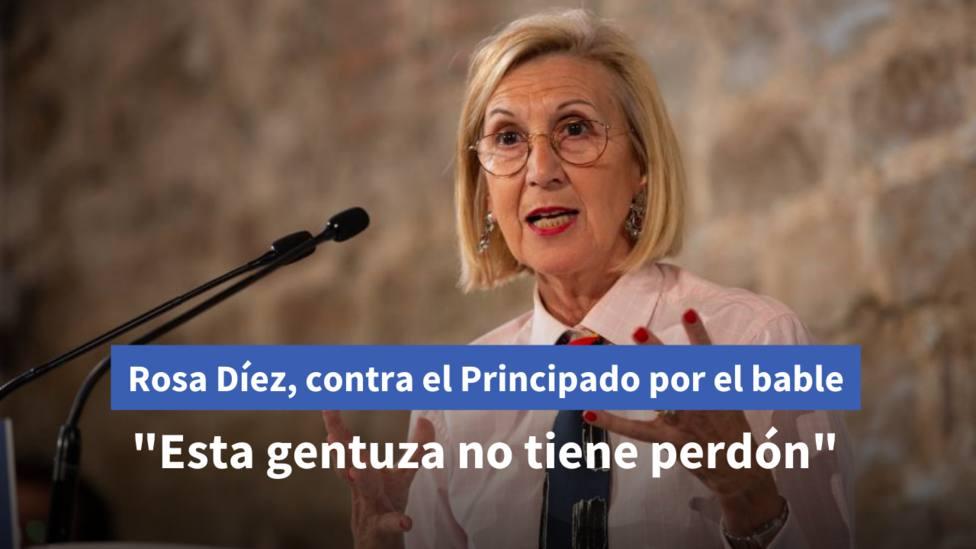 ROSA DÍEZ CONTRA BARBÓN POR EL BABLE canva