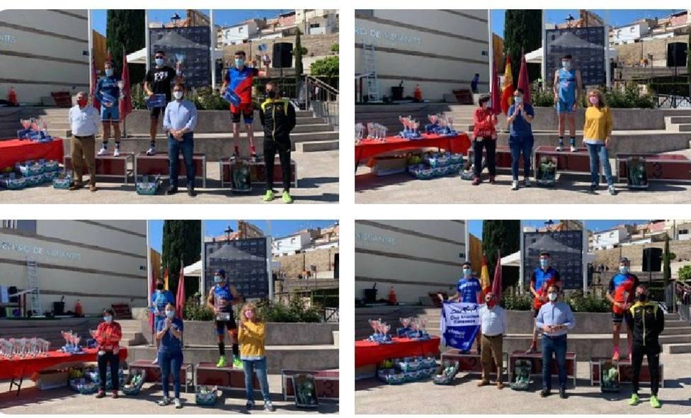 Inmaculada Tonda y Bienvenido Ballester, triunfadores en Lorca.