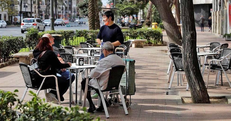 Los locales de hostelería solo podrán utilizar las terrazas