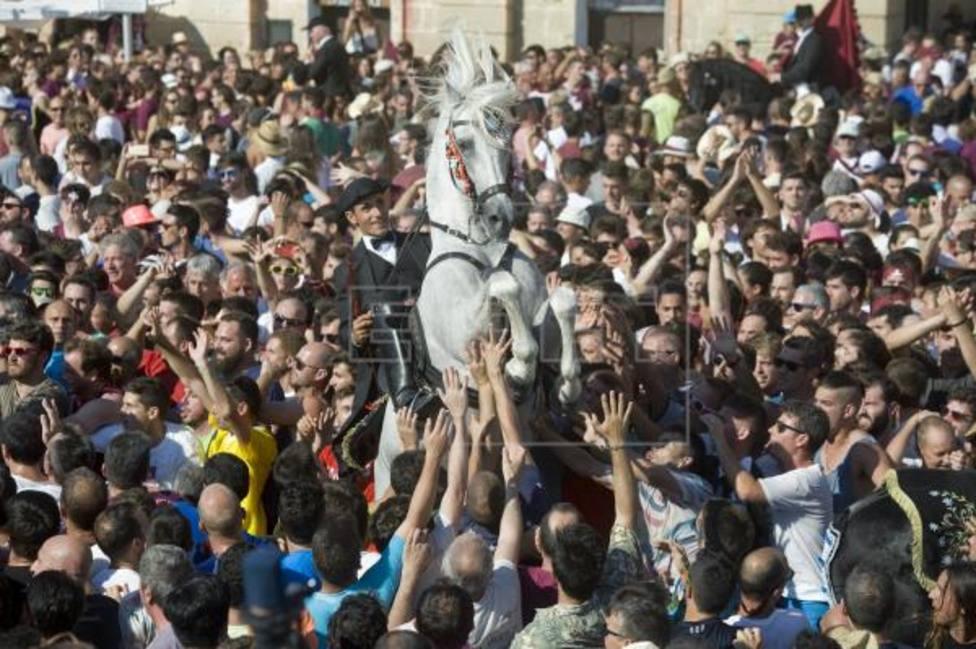 Fiestas Sant Joan en Ciutadella