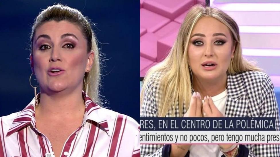 """Carlota Corredera se salta el guion para responder a la última acusación de Rocío Flores: """"A tu disposición"""