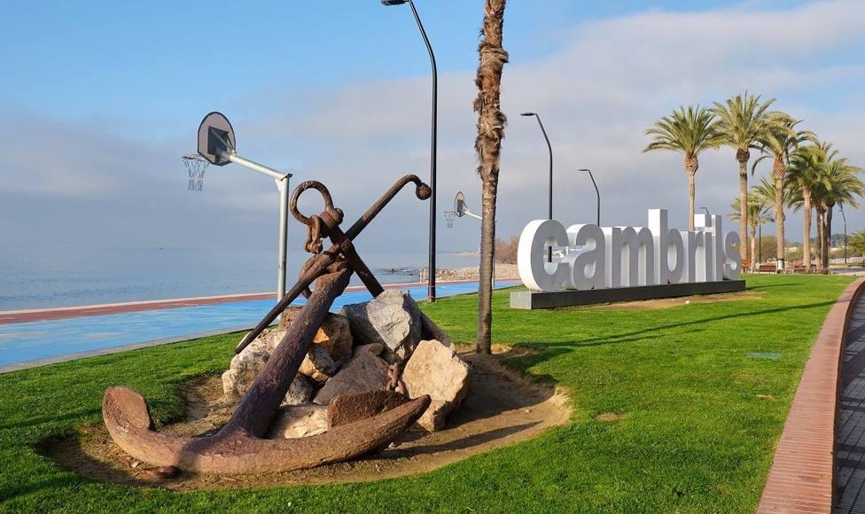 Imagen de la localidad de Cambrils, municipio playero en Tarragona