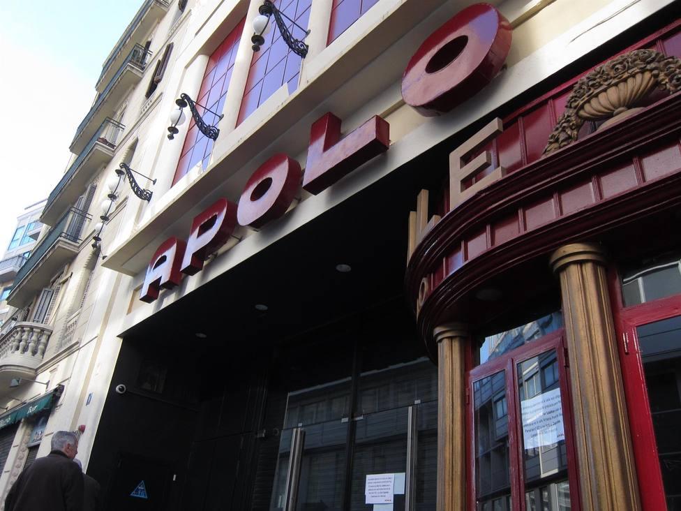 Sala de fiestas Apolo en Barcelona - Europa Press - Archivo