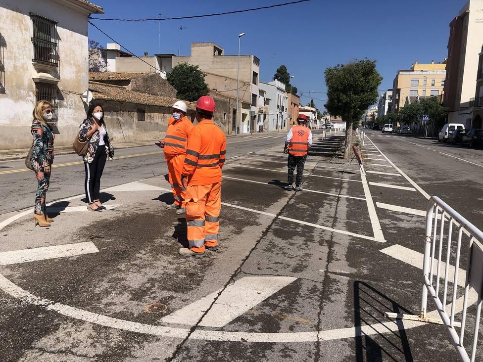 Las obras del bulevar San Jaime arrancan en Almassora con 580.000 euros de presupuesto