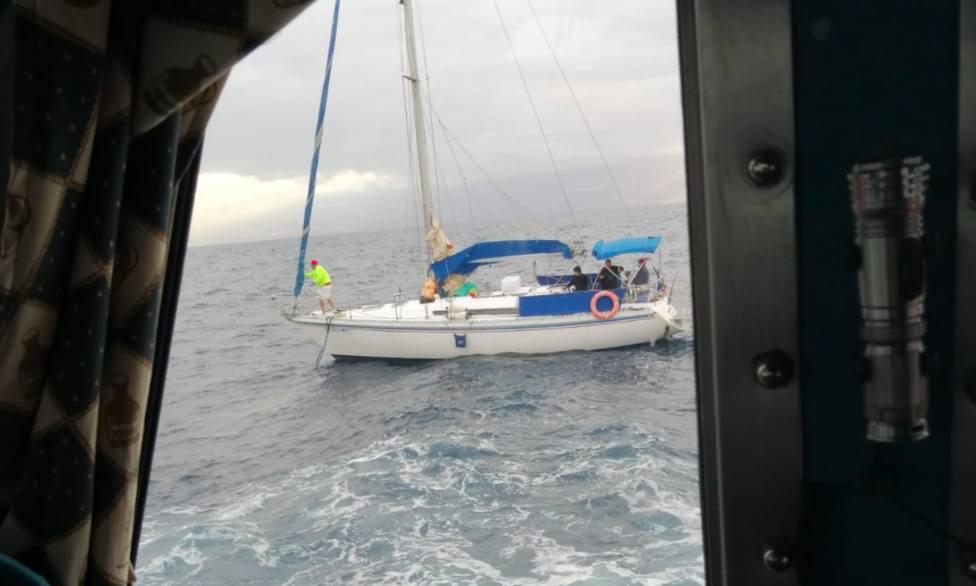velero rescate Salvamento Marítimo
