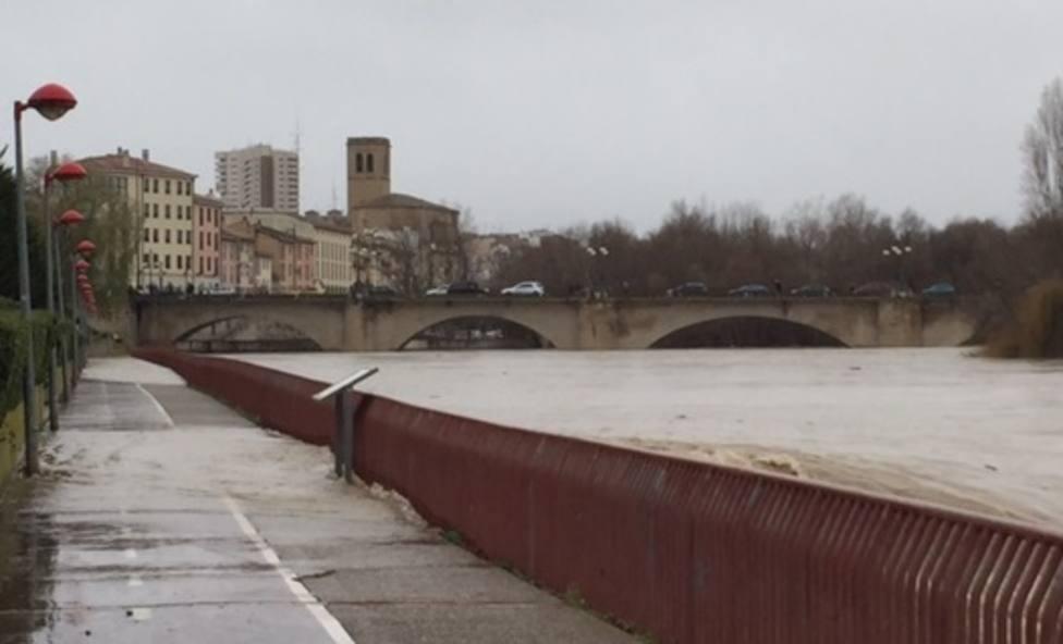 río ebro en Logroño
