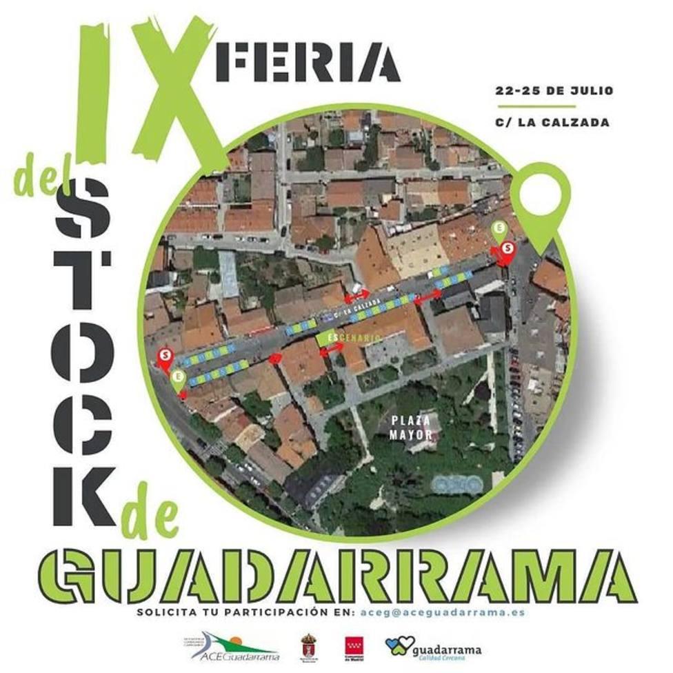 Cartel de la Feria del Stock de Guadarrama 2021