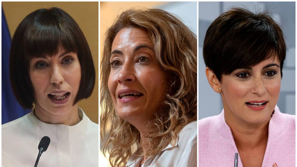 Oposición y excompañeros radiografían a las nuevas ministras en sus ayuntamientos