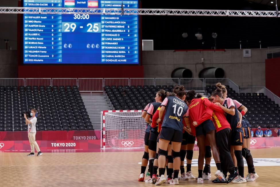 Balonmano: España - Hungría