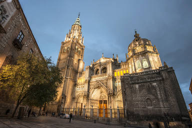 Cathedral,Of,Toledo,,Spain