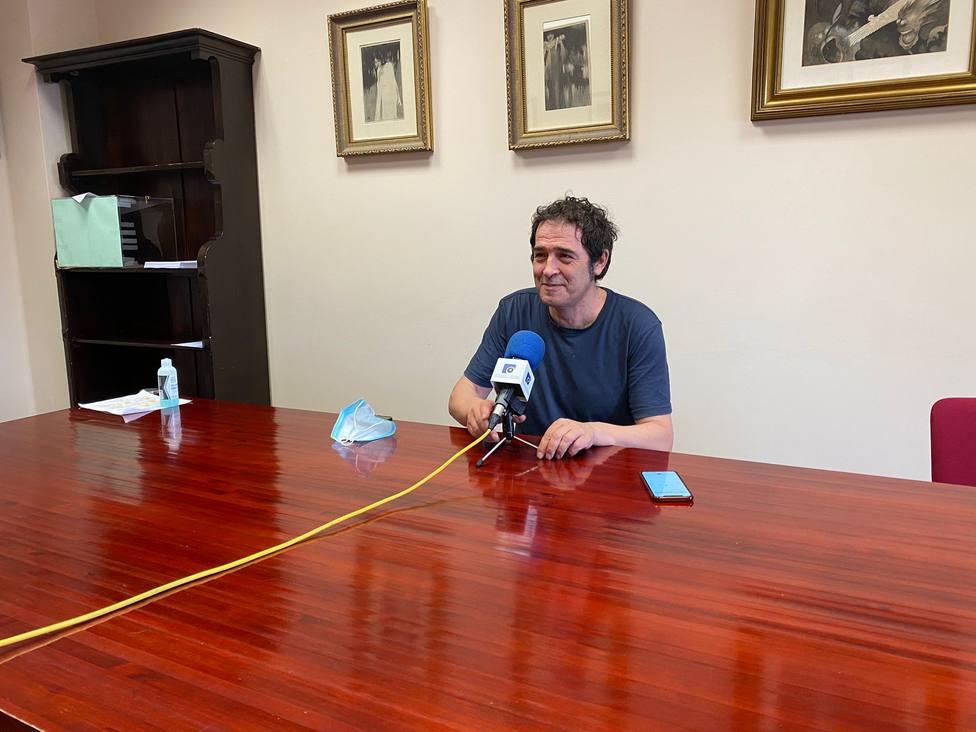 Suso Basterrechea de FeC en rueda de prensa. FOTO: FEC