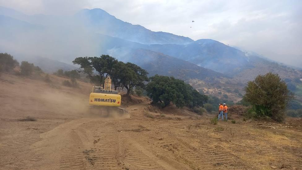 La Fiscalía considera que el incendio de Sierra Bermeja ha sido intencionado