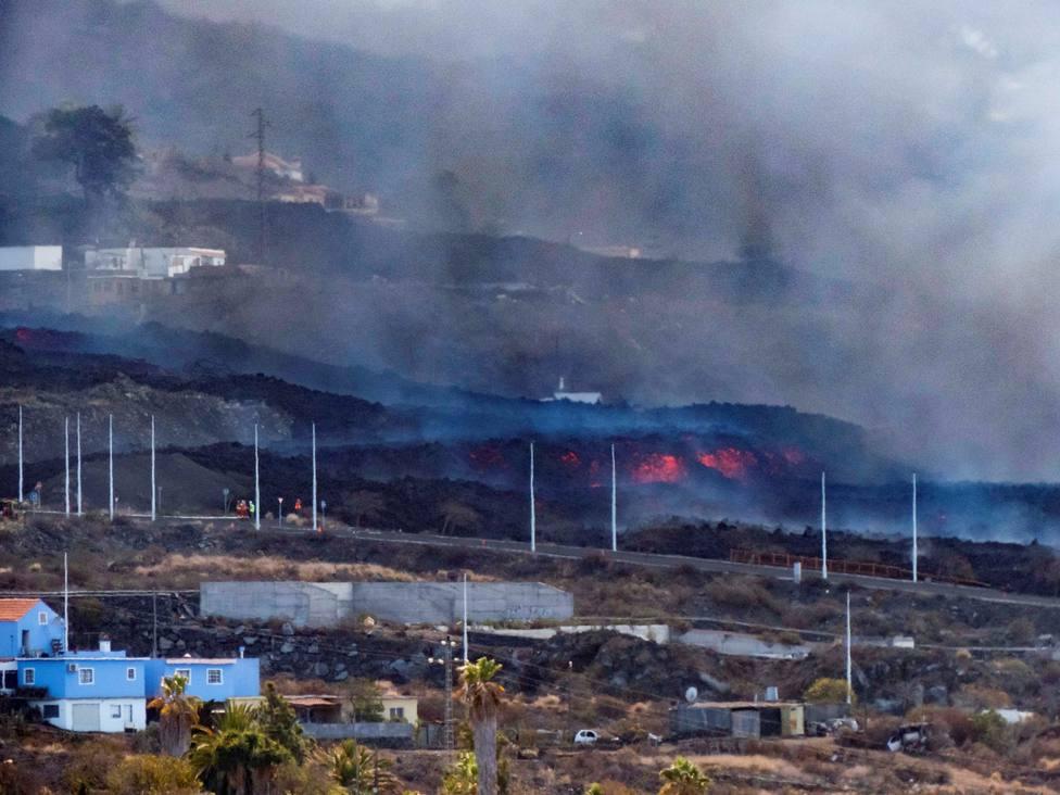 Copernicus actualiza el monitoreo en la zona del volcán, que afecta ya a 497 hectáreas y 1.281 edificaciones
