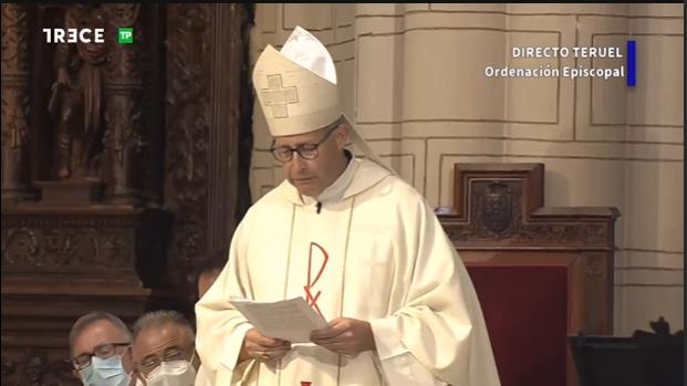 """José Antonio Satué es ya obispo de Teruel y Albarracín: """"Seré un colaborador para promover el bien común"""""""